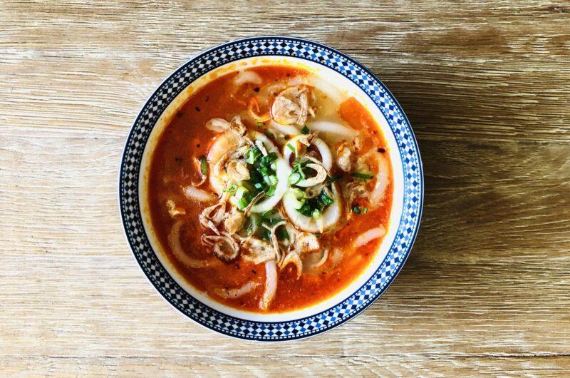Banh Canh Tom Cua {Vietnamese Shrimp and Crab Udon}