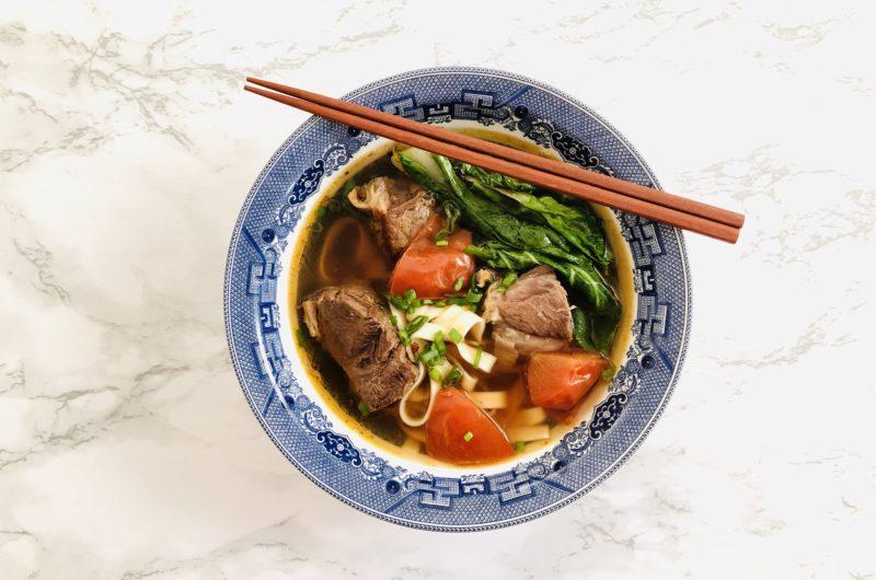Sichuan Beef Noodle Soup