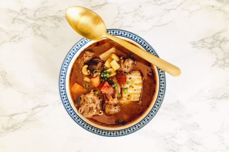 Hong Kong Borscht Soup